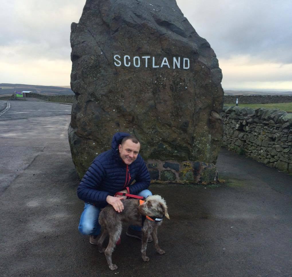 Lola arrives in Scotland